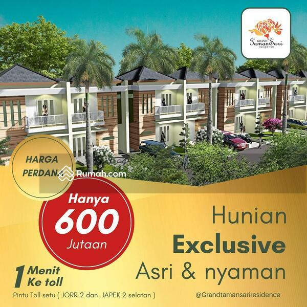 Rumah konsep alamiah di setu #105924363