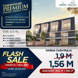 Dijual - Rumah Cibubur 1, 5M dengan 3 lantai