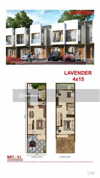 DIJUAL Rumah PIK2 Tahap 1 4x15 Lavender. Harga Murah 1.85M saja !! #105980999
