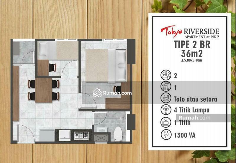Apartemen PIK 2 , Tower Chikusei #106044963