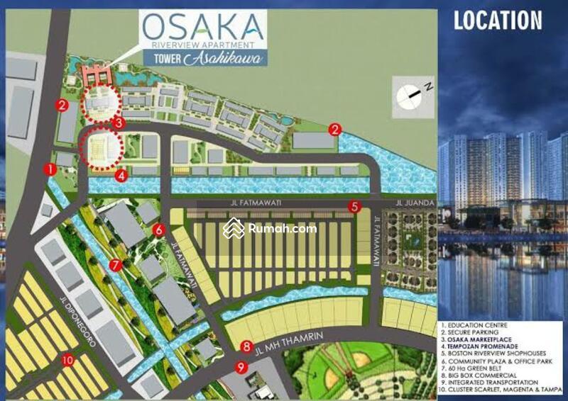 For Sale Ruko Gandeng 2 Osaka Pik 2 #106126801