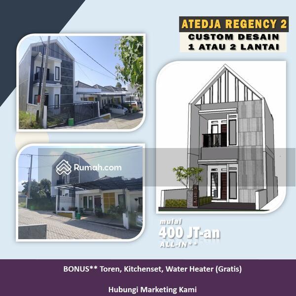 Beli Rumah 2 Lantai di Komplek Asri Kawasan Sejuk di Cihanjuang Rahayu Bandung Utara Strategis #106155083