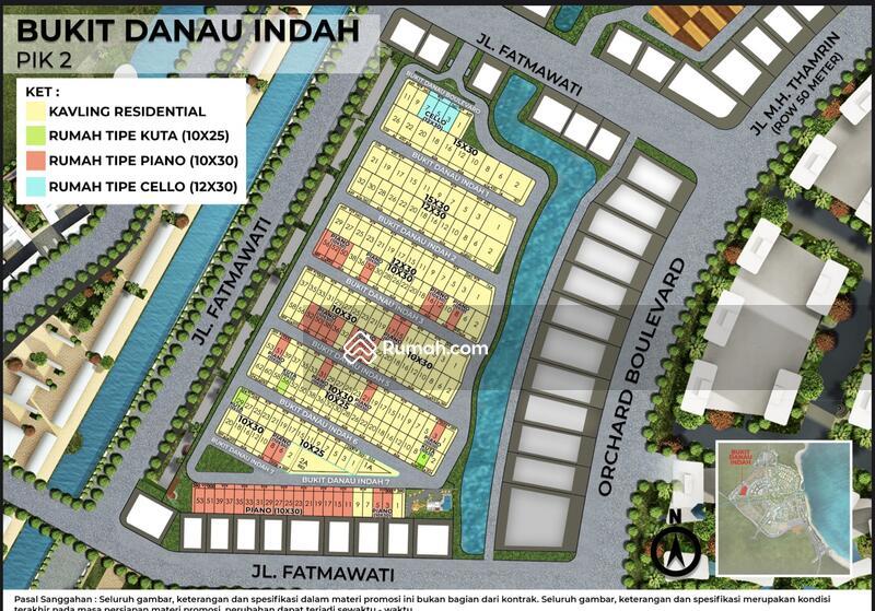 DIJUAL Kavling Bukit Danau Indah PIK2 300m2. 23.5jt/m2 Cicilan Panjang banget !! #106155331