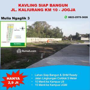 Dijual - SHM Siap Balik Nama: 1 Unit Terakhir Tanah Kavling Jl. Kaliurang Jogja