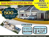 Dijual - Rumah KPR syariah di ciracas termurah