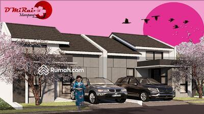 Dijual - Rumah 1 Lantai Konsep Jepang dgn Mezanin Dekat Akses Tol dan Kereta Api Free Biaya