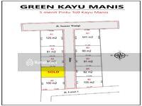 Dijual - 6 Menit Pintu Tol Kayu Manis, Tanah Bogor Hanya 2 Jtan/meter