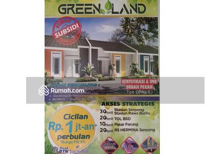 Dijual - Rumah Subsidi Strategis Dekat Pasar Parung
