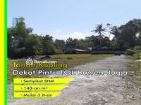 Dijual - Strategis: Hanya 80-an m dari Jalan Propinsi di Komplek Pemda Sleman