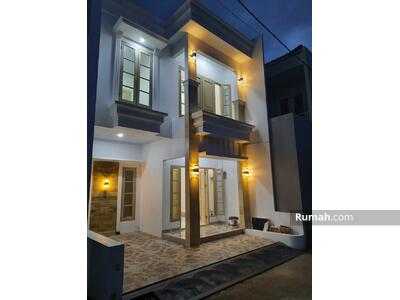 Dijual - Dijual Rumah Baru Minimalis, Dalam Cluster Di Srengseng Sawah Jagakarsa