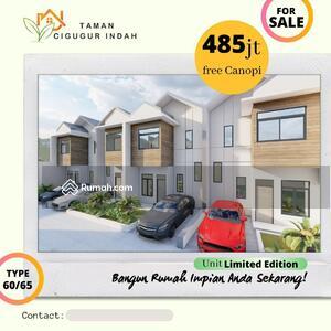 Dijual - Rumah Minimalis 2 Lantai SHM View Bandung Dekat Wisata Lembang