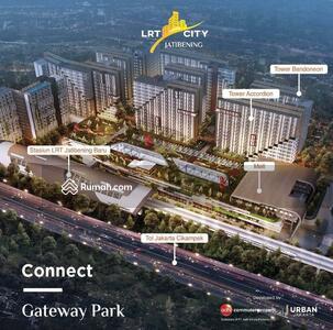 Dijual - Apartemen Siap Huni Harga Terjangkau Connec ke Stasiun LRT Jatibening Bekasi