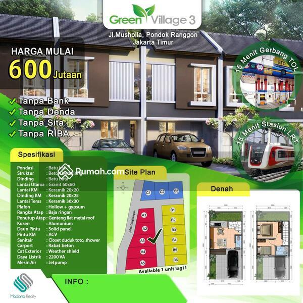 Rumah syariah Green village 3 murah cipayung #106487939