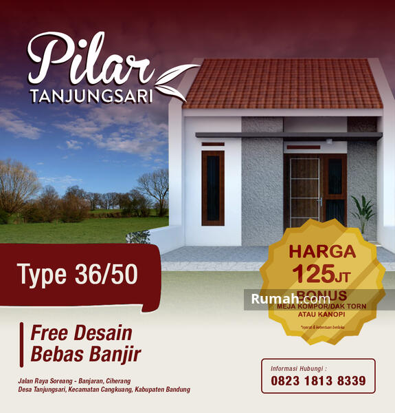 Rumah minimalis di Bandung #106501211