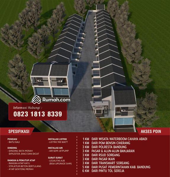 Rumah minimalis di Bandung #106501233