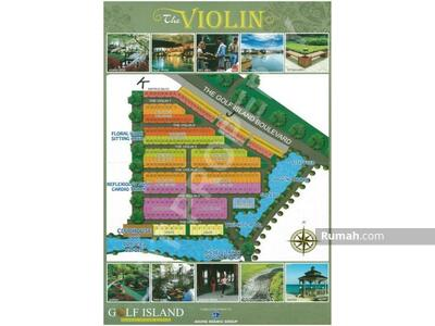 Dijual - Kavling Violin Golf Island PIK