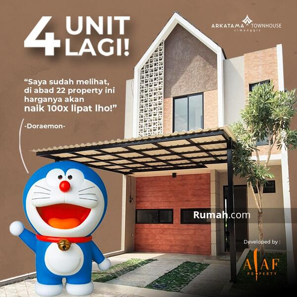 Alaf Property project D'East Townhouse & Arkatama Townhouse #106560955