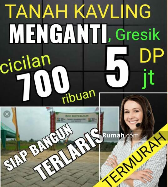 Tanah Kavling Murah Surabaya Tanah Kavling Murah Gresik Dp dan cicilan Murah #106572831