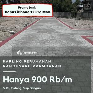 Dijual - Kapling Murah 900 Rb Timur Jogja SHM Luas 100-an M2 Area Prambanan
