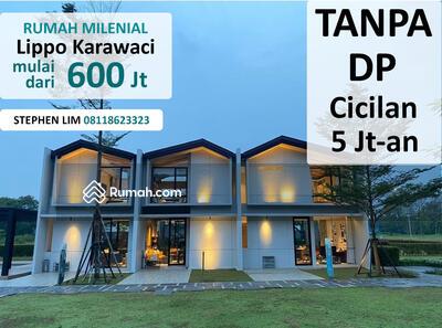 Dijual - Rumah Cicilan 5 Jt Tanpa DP Lippo Karawaci Cendana Parc Tangerang