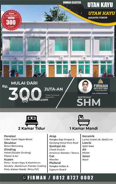 Rumah Murah Modern Di Utankayu, Jakarta Timur. Harga Apartemen #106649225