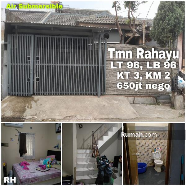Rumah di Taman Rahayu 3 Minimalis Air Sible #106658421