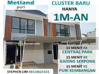 Dijual - Rumah 3 Kamar Tidur di Jakarta Barat Cicilan 7 Jt an Cluster Oxalis Metland Puri