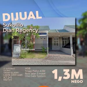Dijual - Sukolilo Dian Regency