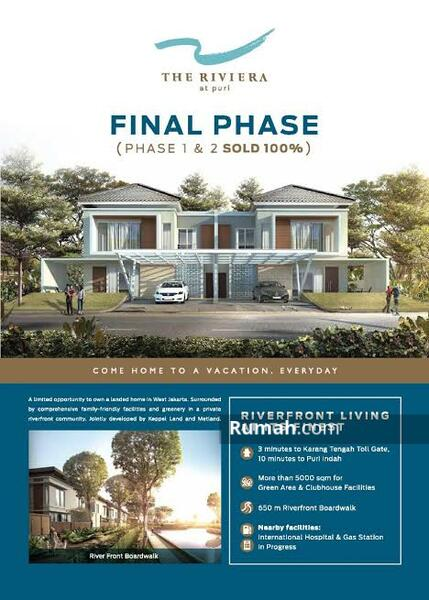 For Sale Rumah The Riviera At Puri Phase 3 #106674683