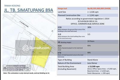 Dijual - Tb Simatupang 89A