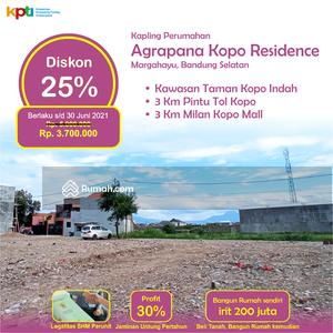 Dijual - Tanah Margahayu Bandung Dekat Exit Tol Kopo