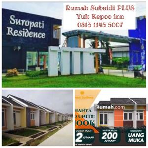 Dijual - Rumah Subsidi Plus Bekasi