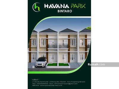 Dijual - Havana Park Bintaro Tangerang Selatan