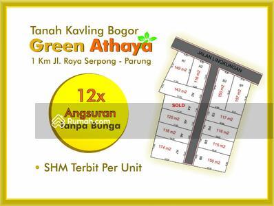 Dijual - Dekat Pasar Parung Bogor, Cicil 12x Non Bunga