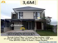 Dijual - DIJUAL Rumah Sultan di CitraSun Garden, Semarang