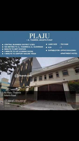 Rumah di Thamrin Peruntukan Hotel dan Office Tower #106962509