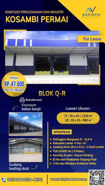 Kosambi Permai Blok Q-R #106983125