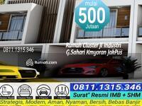 Dijual - Rumah Cluster Modern 500jtan SHM 2Lantai Strategis G. Sahari Kemayoran JakPus