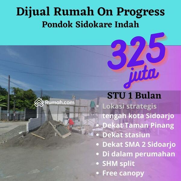 RUMAH MURAH SIDOARJO KOTA READY UNIT,PROMO TERBATAS #107142279