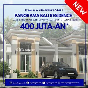 Dijual - CLUSTER MURAH DI JABODETABEK HARGA 400JT DP 0% CICILAN 2. 3JT PANORAMA BALI RESIDENCE