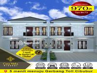 Dijual - Kavling Casa Vista Cibubur, 5 menit menuju GT TOLL CIBUBUR.