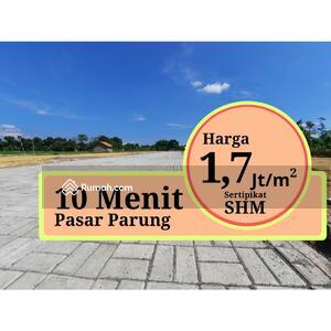 Dijual - Dekat Jl. Serpong Parung Promo Launching 1 Jtan/m