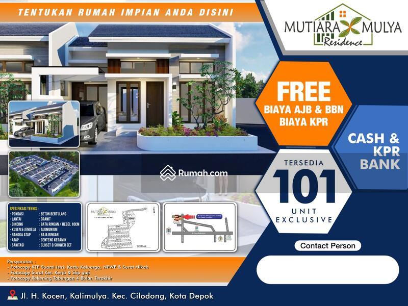 Dijual Rumah Baru di Mutiara X Mulya Residence Depok #107195785