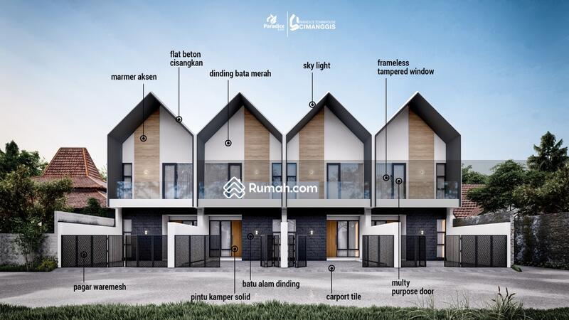 Hunian 2 Lanati Design Scandinavian House Harga Ekonomis Lokasi Dekat Kawasan Elit Cibubur #107197225