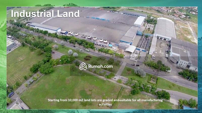 tanah Industri kawasan industri Jababeka cikarang #107294763