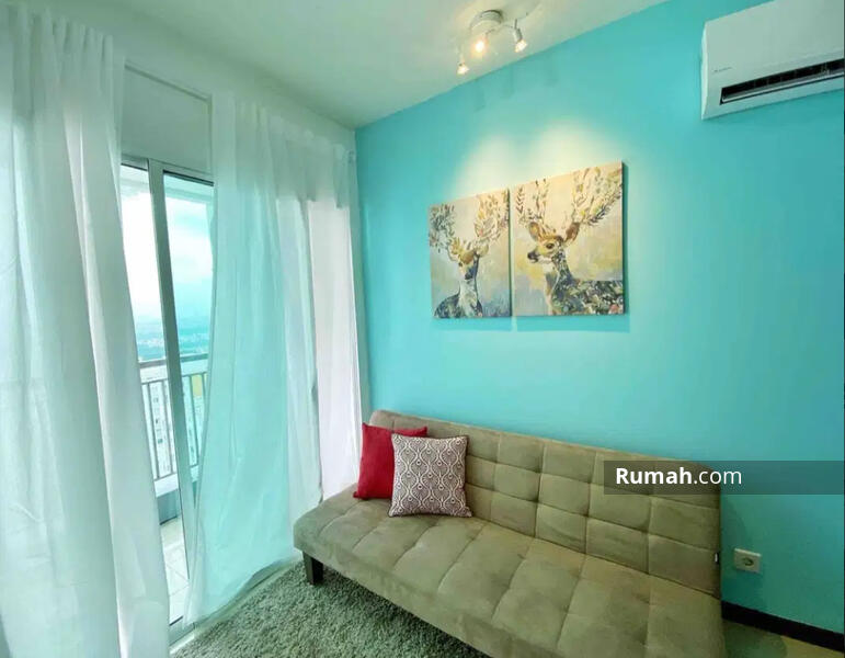 Dijual cepat condominium greenbay 1 kamar tidur full furnished #107463203