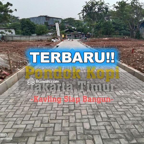 Wow, Tanah Kavling Siap Bangun Dekat Tol  Bintara dan Stasiun Cakung #107476413