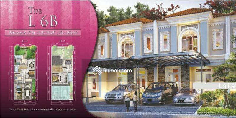 Jual Cepat Rumah 2 Lantai Luas 6x17 Type 3KT UF Cluster La Seine JGC Jakarta Garden City Cakung #LN #107639053