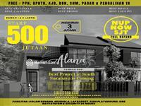 Dijual - Rumah Alana Tambak Oso  500Jtaan Dekat Merr Surabaya