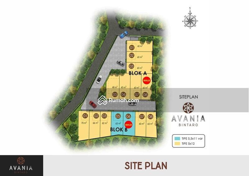 Rumah modern Milenial di Bintaro dekat stasiun #107696051